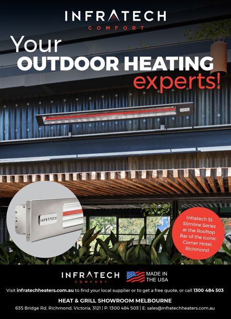 Infratech heating from Heat and Grill