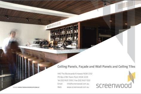 Panels and facades by Screenwood