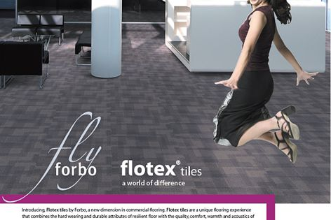 Flotex tiles from Forbo