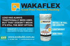 Lead-free flashing by Wakaflex