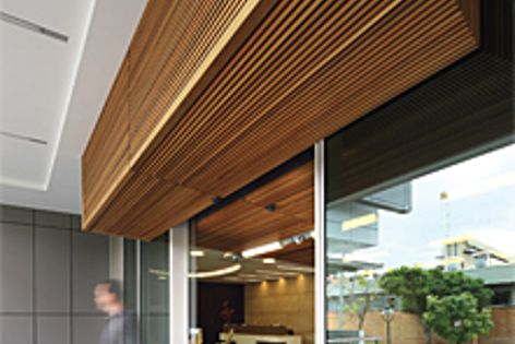 Screenwood can supply custom corner and edge trim panels to complement any project.