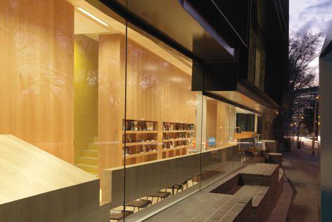 Premier's Award for Interior Design Excellence winner Nigel Peck Centre, Melbourne Grammar School.