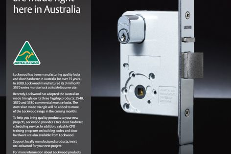 Lockwood – made in Australia