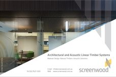 Acoustic solutions from Screenwood