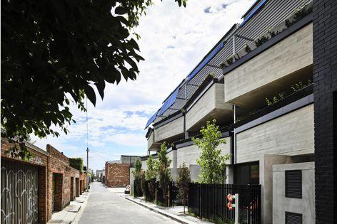 Nine Smith Street by keynote speaker Karen Alcock's practice MA Architects with Neometro. Photography: Derek Swalwell.