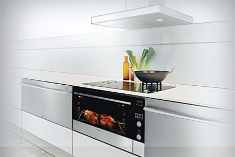 The Modular appliance range from Fisher & Paykel integrates for a seamless kitchen.