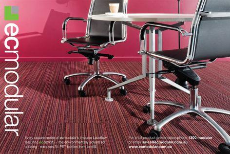 EC Modular carpet tiles