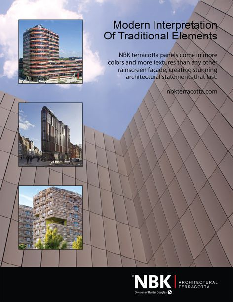 Architectural terracotta by NBK