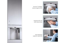 3IN1 towel dispenser by Bobrick