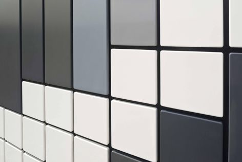 Benchmark Kreate offers an extensive array of colours, panel lengths, widths, core thicknesses, cassette sizes and arrangements.