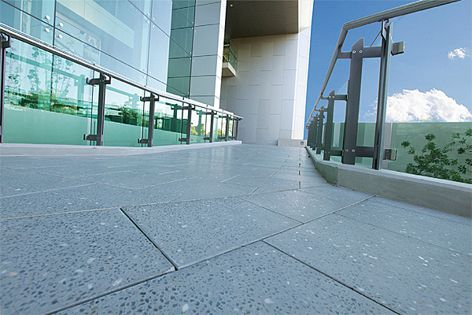 The Euro paving range has been used in private and commercial applications.