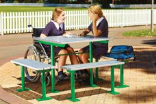 Escola outdoor furniture from Street Furniture