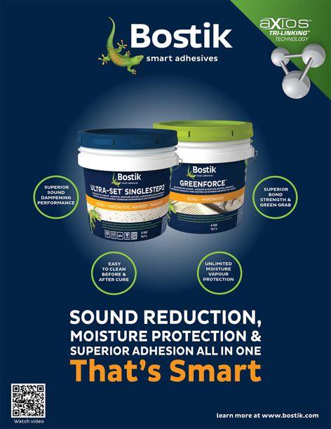 Smart adhesives by Bostik