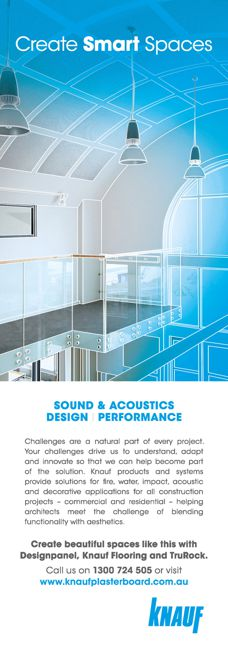 Acoustic solutions by Knauf Plasterboard