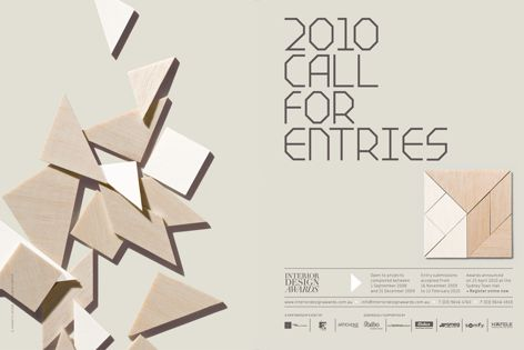 Interior Design Awards 2010 Call for Entries