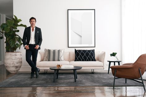 The King Living Art collection by Nick Leary is inspired by quality materials and craftsmanship.