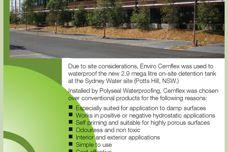 Enviro Cemflex waterproofing