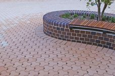 Permeable pavers by Adbri Masonry