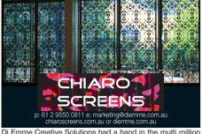 Di Emme's Chiaro screens