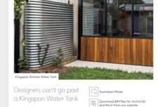 Water tanks by Kingspan