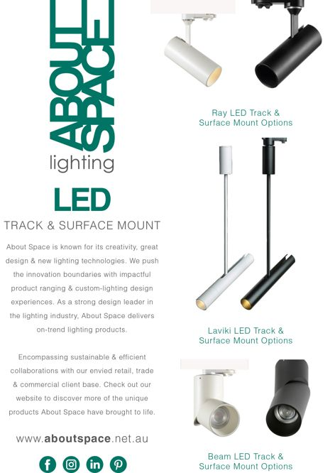 LED lighting from About Space