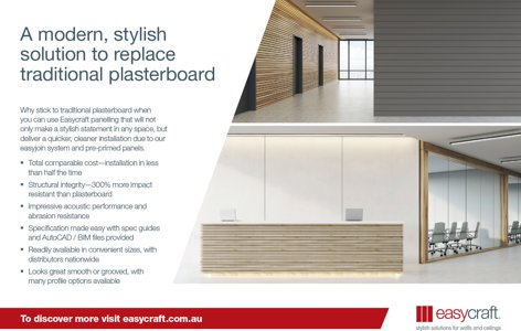 Wall and ceiling panels by Easycraft