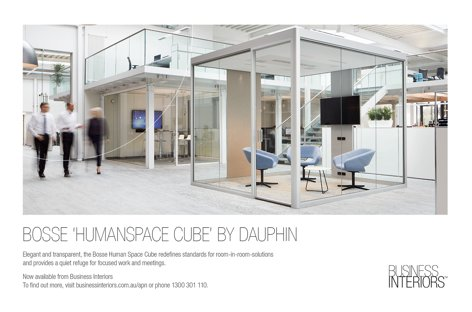 Humanspace Cube from Business Interiors