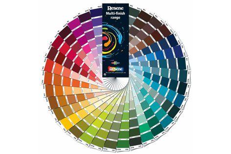 The new Resene Multi-finish colour collection.