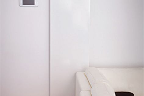 Providing an unobstrusive look, the Flat Panel radiator is ideal for when wall space is limited.