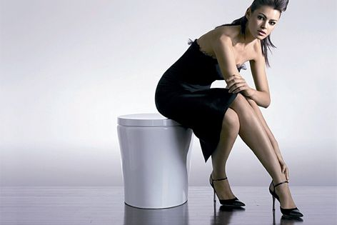 Purist Hatbox toilet suite by Kohler