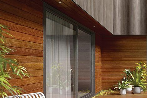 Porta Endure timber cladding is made from select-grade sustainably sourced hardwood.