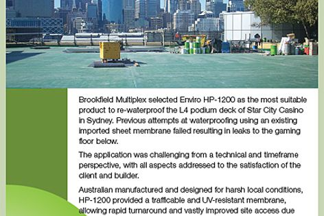 Waterproofing Technologies Enviro HP-1200