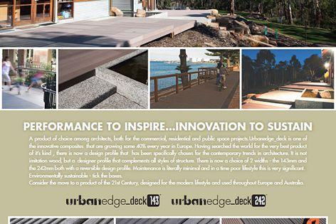 Le Messurier UrbanEdge decking