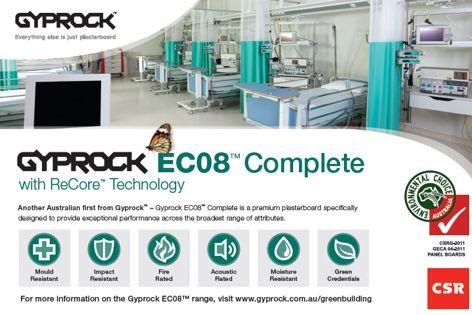 EC08 Complete from CSR Gyprock
