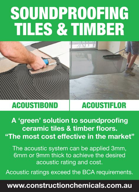 Acoustic system from Construction Chemicals