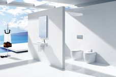 Meridian bathroom collection