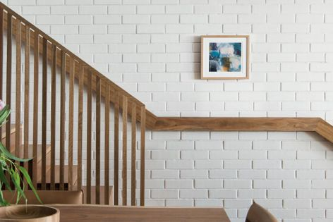 Brick facings give the design flexibility to get the lasting beauty of brick as part of any internal space.