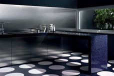 Bisazza glass countertops