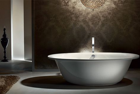 Freestanding baths by Kaldewei