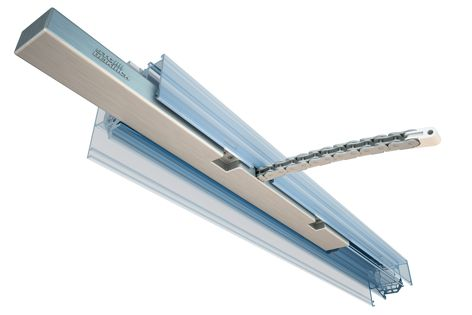 The CDi actuator is ideal for projects where the actuator is concealed into a window-framing system.