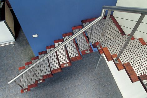 Versatile Safe-T-Perf® by Locker Group acts as a safe, non-slip flooring surface.
