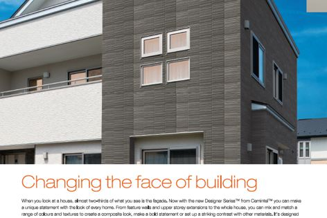 Walling solutions from CSR Cemintel