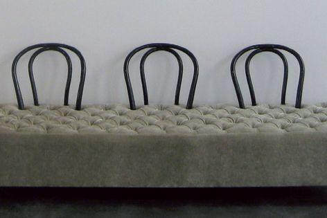 Interstudio's Morticia chaise