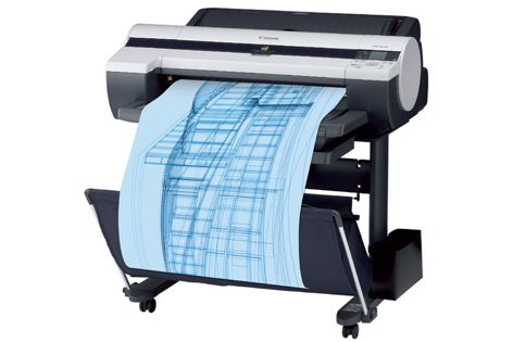 ImagePrograf printer offers faster print speeds, smooth, curved lines and ultra-sharp small text.