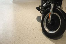 Polished Concrete Overlay by Concrete Collaborative