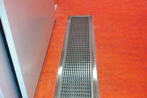 Stormtech's linear drain designs conform to strict accessibility requirements.