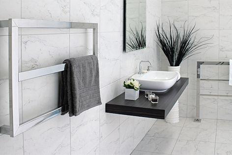 Kado Frame Heated Towel Rail By Reece By Dc Short Australia