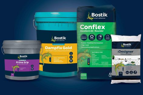Bostik's tiling range is suitable for a wide range of applications, from domestic to commercial.