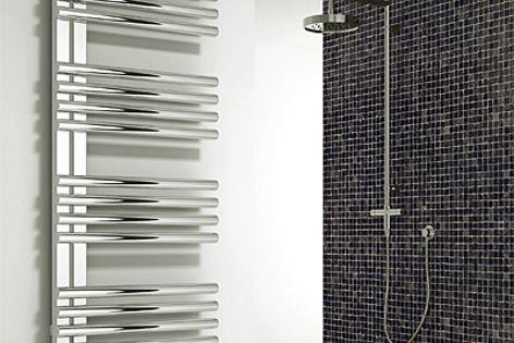 Designer towel rails by H20 Heating