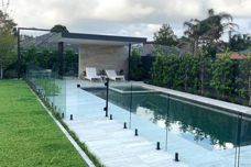 Frameless glass systems from C.R. Laurence